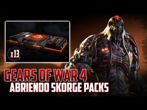 Gears of War 4 | Abriendo 13 Skorge Packs - En Viernes 13!!