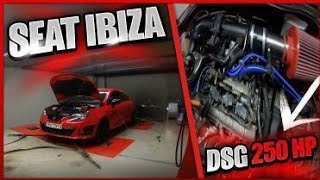 SEAT IBIZA CUPRA DSG 250HP || 1st Stage + Dyno + Τυχαιο δυνατο πατημα!