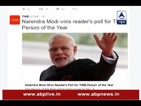 Modi wins reader's poll for TIME 'Person of the Year'