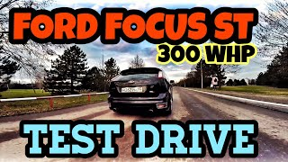 FORD FOCUS ST 300hp | Тест-драйв
