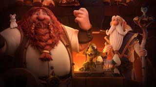 Corto animado de Hearthstone: ¡Hearthstone tu hogar!