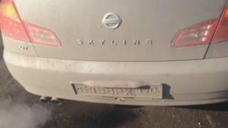 Nissan Skyline v35 вопрос знатокам.