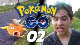 Pokémon GO | Episode 2 - Catching Pokémon Outside!