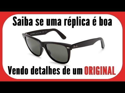 e5431e456 Óculos Ray Ban - Original x Réplica - YouTube