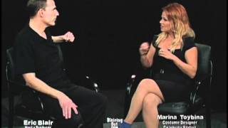 X FACTOR  costume designer Marina Toybina talks w Eric Blair