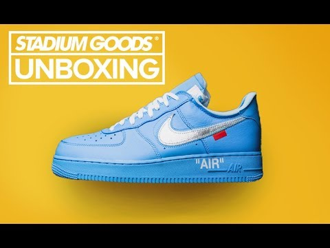 UNBOXING Off White Nike Air Force 1