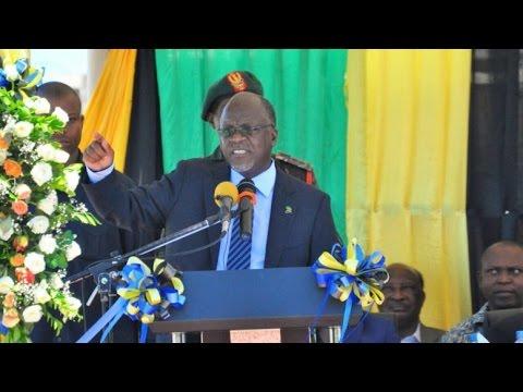 LIVE: Hotuba ya Rais Magufuli Kwenye Maadhimisho ya Mei Mosi