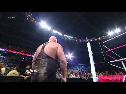 Big Show knocks out Brodus Clay and Tensai: Raw, Sept. 24, 2012