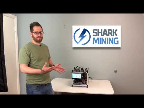 Shark Mini – Compact And Quite Mining Rig With Touchscreen! 4 X NVIDIA 1080 Ti) Ethereum 200 Mh
