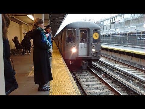 ᴴᴰ R68 & R68A N Train Action In Brooklyn & Manhattan