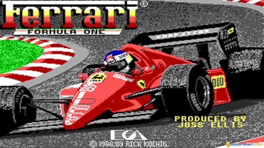 Resultado de imagem para Ferrari Fórmula One 1988 game