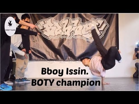 Bboy Issin. Battle of the Year champion 2017-2019 footage.