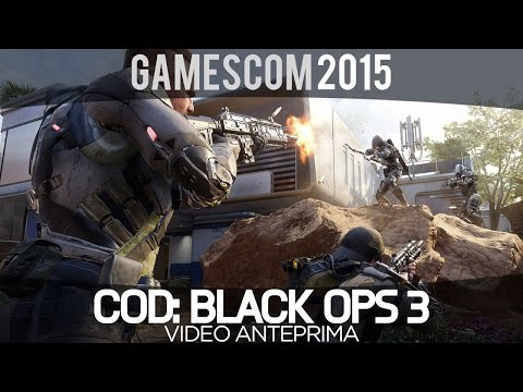 COD: Black Ops 3 - Video Anteprima - GamesCom 2015 - Everyeye.it
