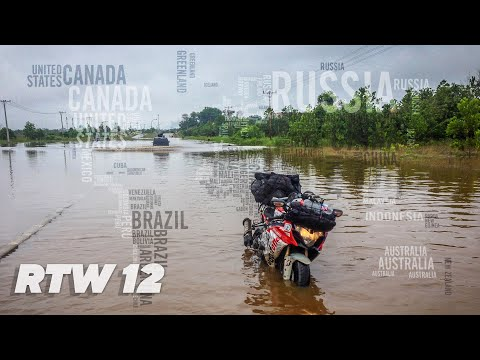 Motorcycle Around The World TeapotOne - Episode 12 Indonesia to Timor Leste