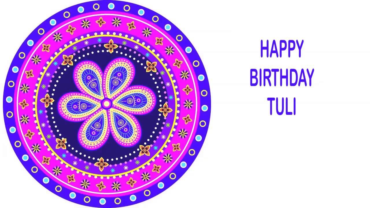 tuli indian designs happy birthday youtube