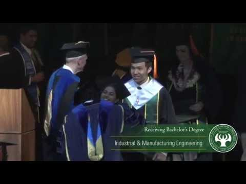 Cal Poly Pomona Commencement 2015 - College of Engineering