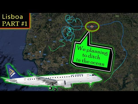 [REAL ATC] Air Astana has SERIOUS FLIGHT CONTROL ISSUES!