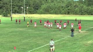 A-State Red Wolves Rugby (B-Side) vs U of A Razorbacks (A-Side) Game 2