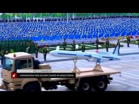 Turkmenistan took delivery Chinese high speed WJ 600 unmanned aerial vehicle