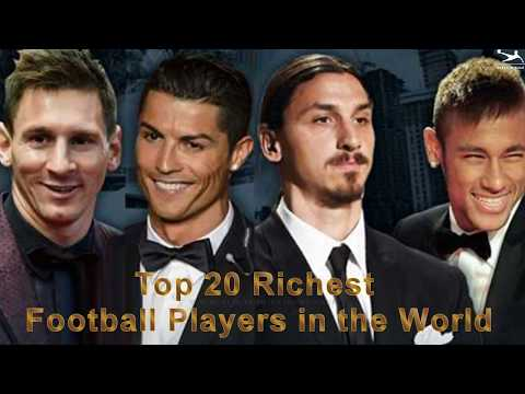 Top 20 Richest Football Players in the World - 2017