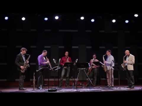 PRISM Quartet, Tim Ries, and Miguel Zenón perform excerpt from Ries