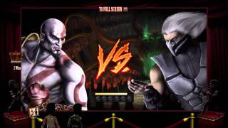 Mortal Kombat Online King Of the Hill (Feat. Kratos God Of War)