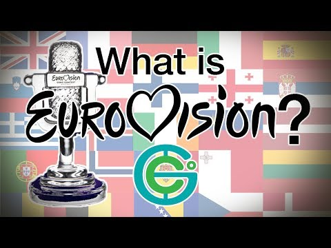 What is EUROVISION? (Geography Now!)