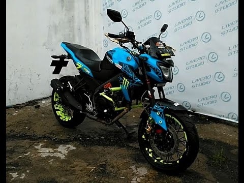 Yamaha New Vixion lighting (FZ150I) with Adventure Concept #BikeModification