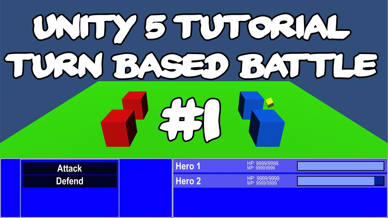 Unity 5 Tutorial: Turn Based Battle System #01 - Introduction
