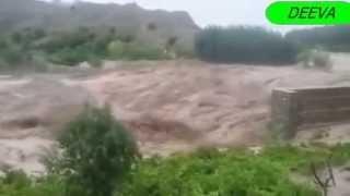 Flood 2015 in Zhob Balochistan-Pakistan