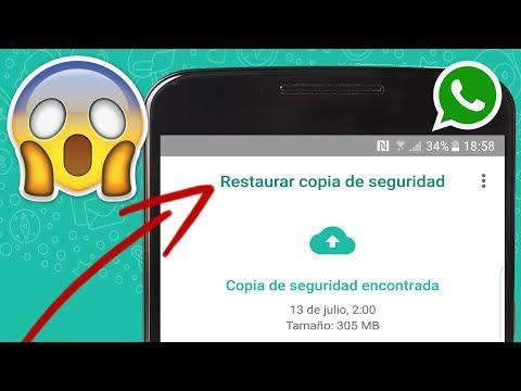 Recuperar conversaciones eliminadas de WhatsApp 2019