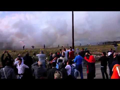 Tai nạn bất ngờ tại một chương trình bắn pháo hoa