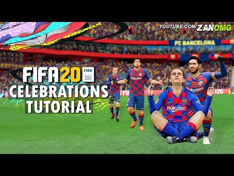 FIFA 20 ALL 100 CELEBRATIONS TUTORIAL | Xbox One & PS4