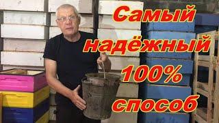 Anatoliy Strelec  ДЕЗИНФЕКЦИЯ РАМОК Как СОХРАНИТЬ СУШЬ