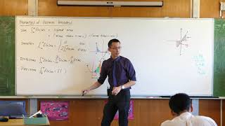 Properties of Definite Integrals (2 of 4: Dissection & direction)