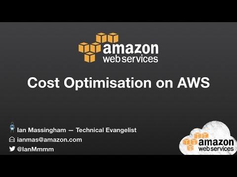 Cost Optimisation on AWS