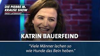 Katrin Bauerfeind kann lachen wie ein Mann