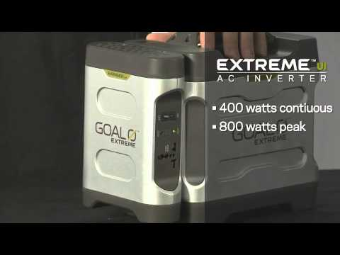 GOAL ZERO® Portable Solar Power Extreme 350 Emergency Power Kit