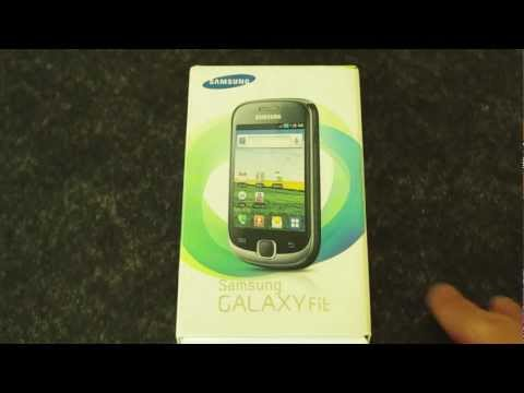 Samsung Smartphone Galaxy Fit Unboxing