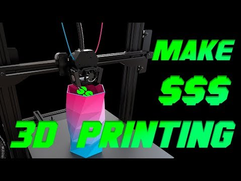 How to get money on 3D Printing business - 10 Ideas