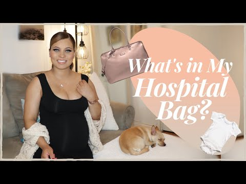 HOSPITAL BAG MUST HAVES! PACKING LIST FOR MOMMY, BABY & DADDY/ SUPPORT PERSON | Brittney Gray