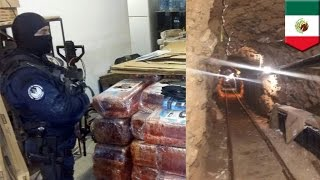 Narco tunnel bust: Sophisticated 2,400-ft long