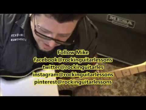 Black Label Society - Room Of Nightmares - CVT Guitar Lesson by Mike Gross
