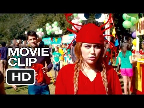 So Undercover Movie CLIP - Kissing Booth (2012) - Miley Cyrus Movie HD