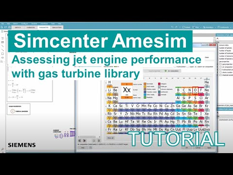 Assessing the jet engine performance with the gas