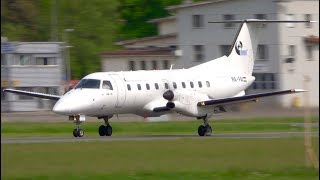 Budapest Air Service - Embraer EMB 120 - Take-Off at Bern