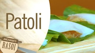How To Make Patoli (Rice Flour Modaks) By Archana || Archana's Rasoi
