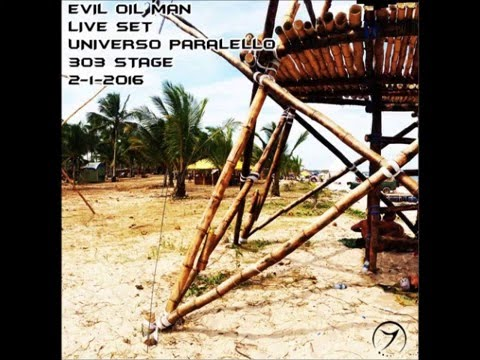 Evil Oil Man Live Set Universo Paralello 2016