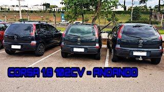 Corsa Hatch 1.8 102CV -  Primeiras impressões 😱