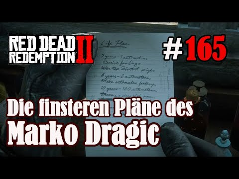 Let's Play Red Dead Redemption 2 #165: Die Pläne des Marko Dragic [Frei] (Slow-, Long- & Roleplay)